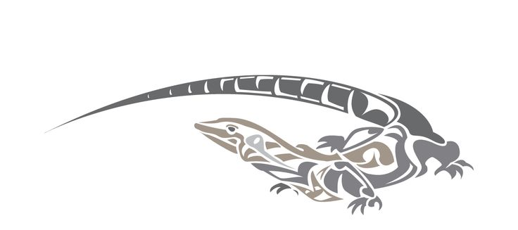 one of my logo lizard concepts for #goannabrewing - Inkling About Design www.inklingaboutdesign.com