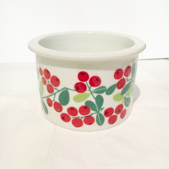 Vintage Arabia Finland Pomona Lingonberry by FinnishVintageOasis