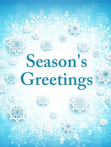 61 best seasons greetings cards images on pinterest anniversary ice world seasons greetings card the season of winter is a spot of warmth in m4hsunfo Choice Image