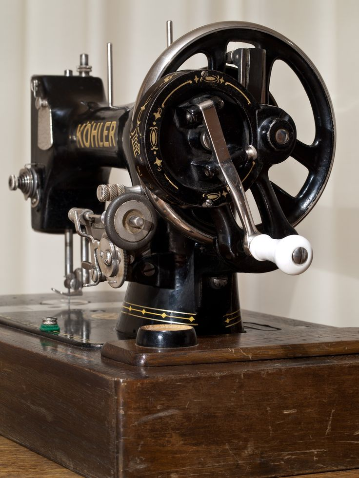 Kohler Sewing Machine Check out this cool sewing machine
