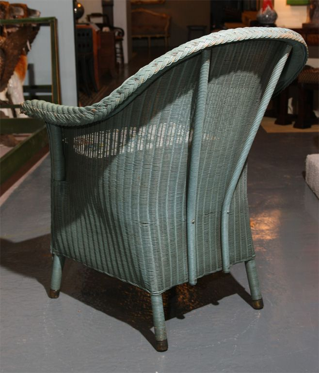 $650 1stdibs | Lloyd Loom Chair
