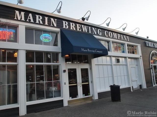 Marin Brewing, Larkspur, CA
