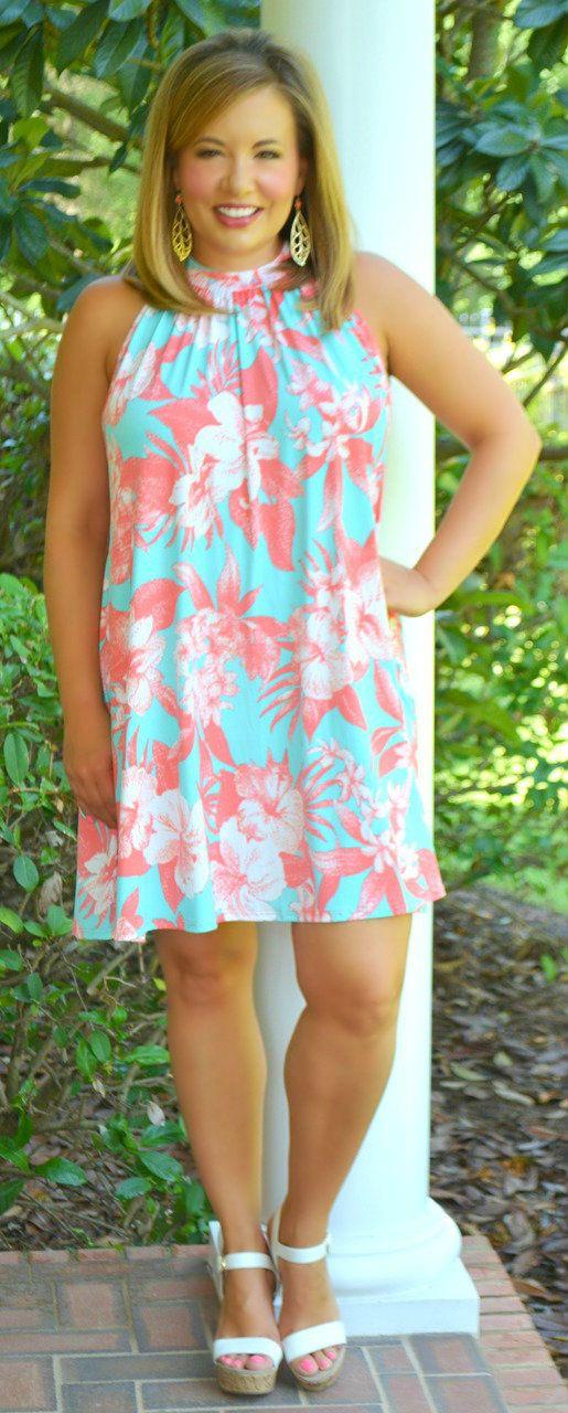 Paradise Found Dress / Tunic - Perfectly Priscilla Boutique