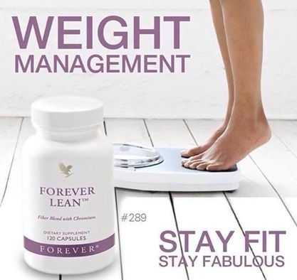 Forever Lean  For people who love sport and want to make sure they eat a healthy, balanced diet. These well-balanced capsules contain valuable fibre from the prickly pear, proteins derived from kidney beans and the vital trace element chromium.