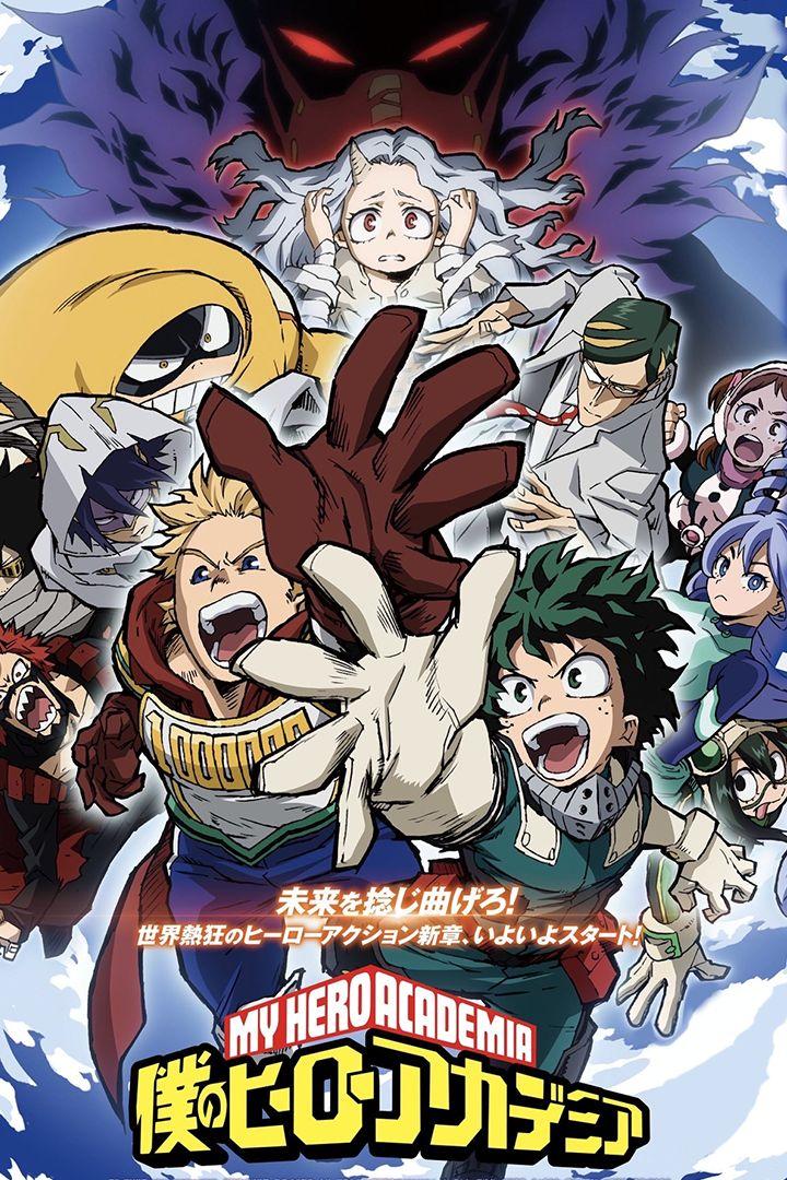 Fall 2019 Boku No Hero Academia Season 4 Temporadas Desenhos De Anime Anime