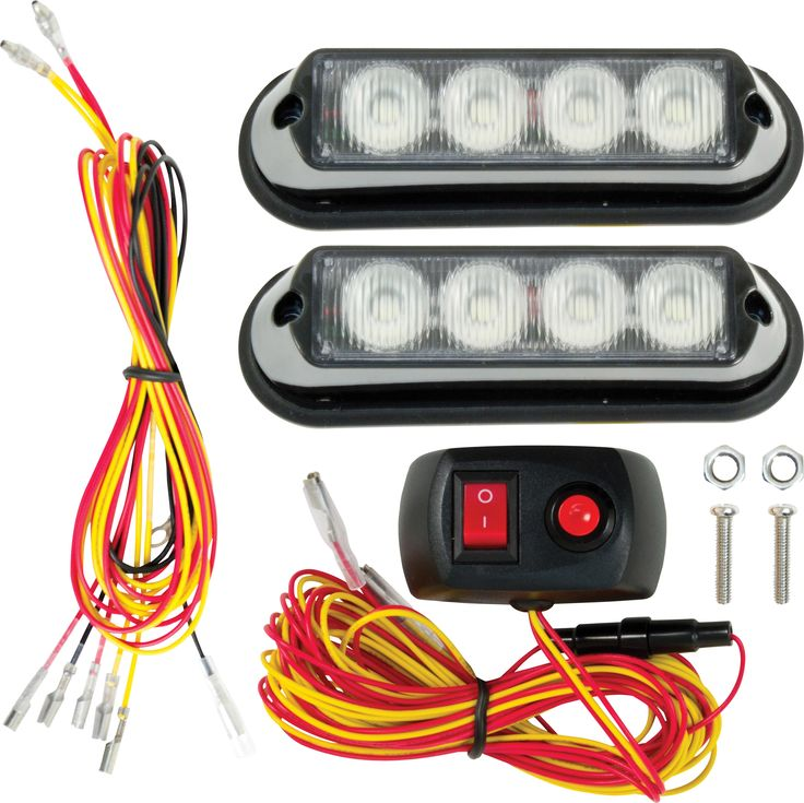 Led Lights For Lawn Tractor : Led strobe light kit princess auto tractor lawnmower attachments pinterest princesses
