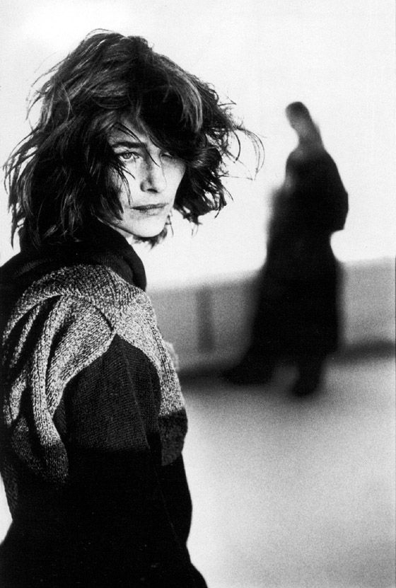 Charlotte Rampling actress famous for 'The Night Porter'. Still interesting everyone in films like 'Swimming Pool'