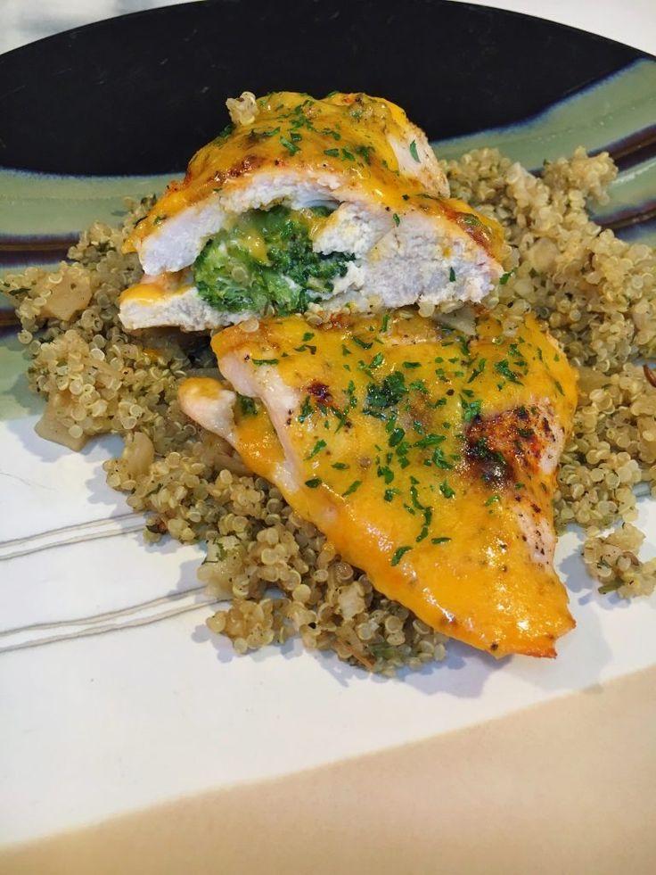 21 Day Fix: Broccoli and Cheddar Stuff Chicken