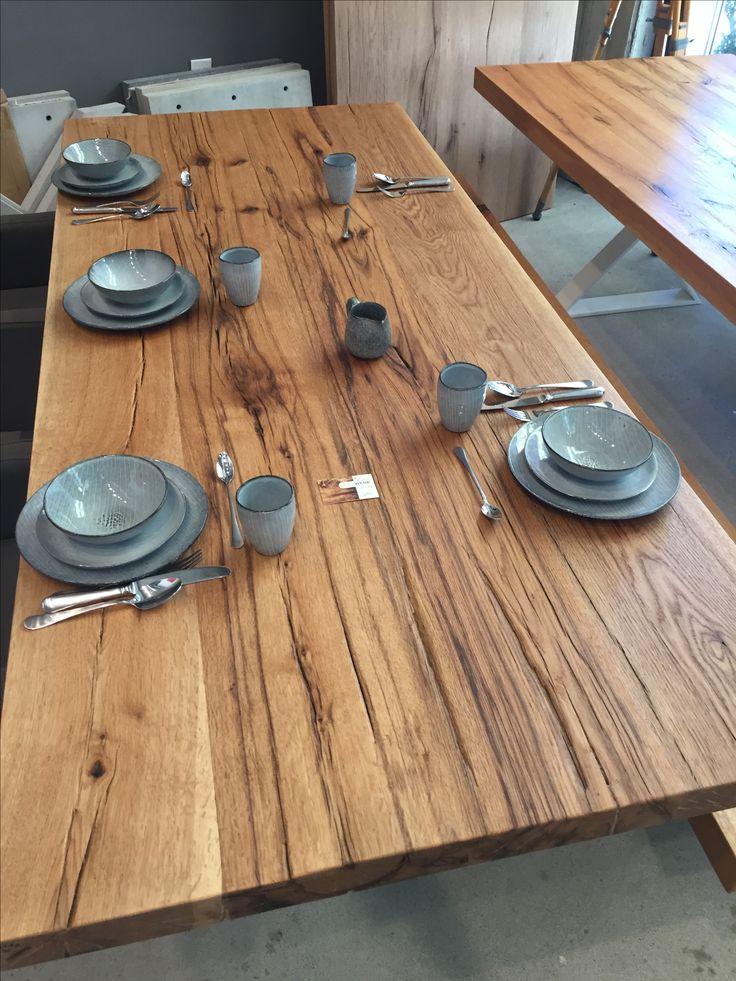187 best massivholztische esstische dinningtable images on for Tisch altholz
