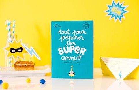 17 meilleures images propos de anniversaire super h ros - Kit anniversaire super heros ...