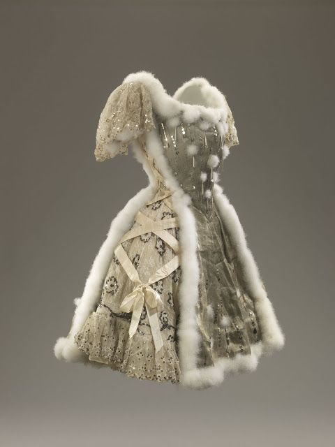 Costume for The Mer de Glace, act III, 1909 - designed by Jean Lorrain