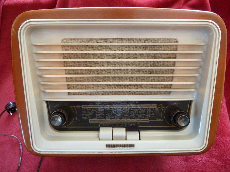 Radio Röhrenradio Telefunken Jubilate | eBay