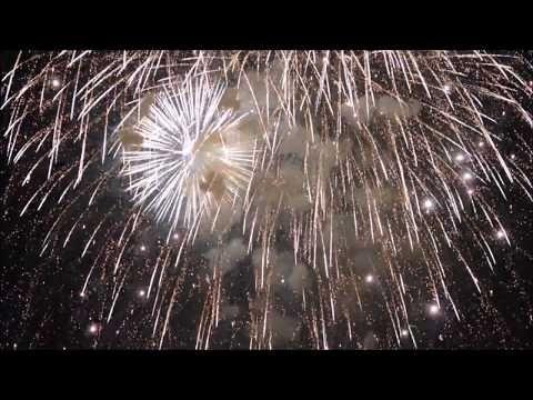 Japantag 2017 Düsseldorf 花火 日本の日 Feuerwerk - YouTube