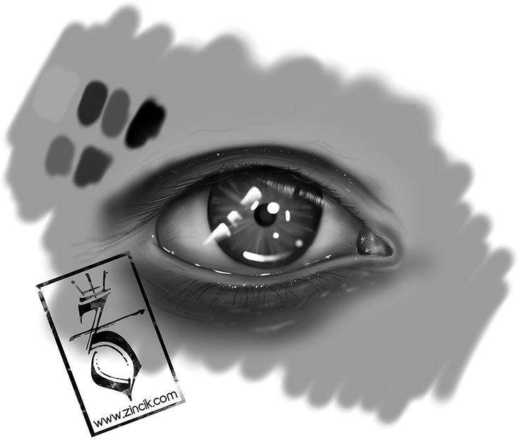 Martin Tattooer Zincik - Czech tattoo artist - Digital art illustration Eye , tetování Praha / Brno
