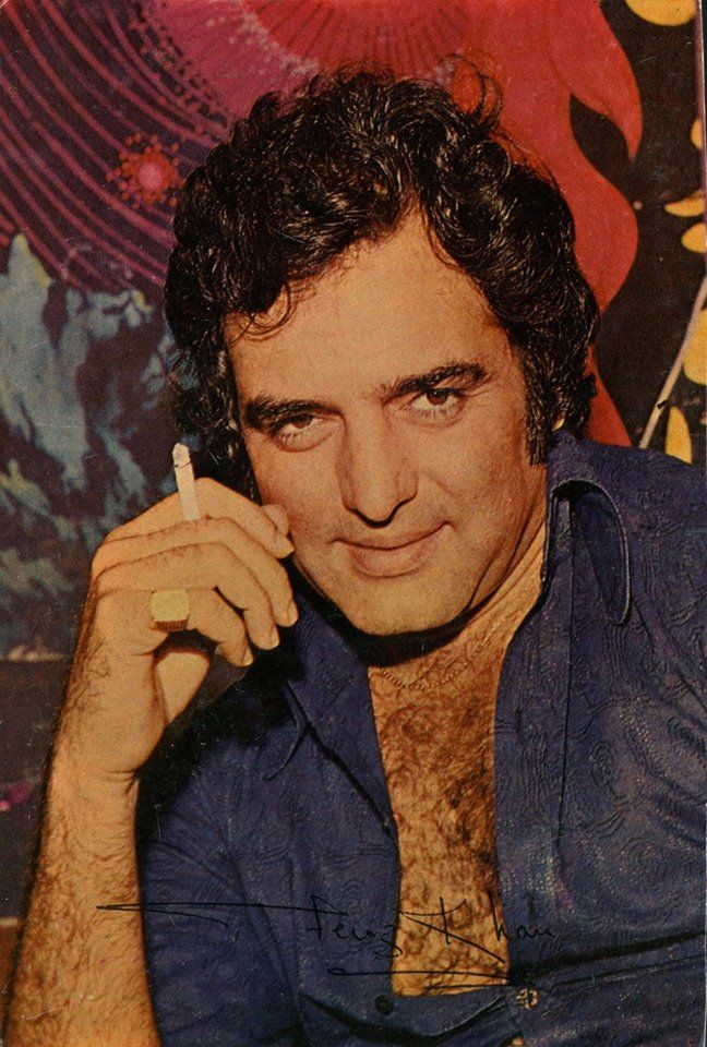 Fairoz Khan ,a famous Indian actor.