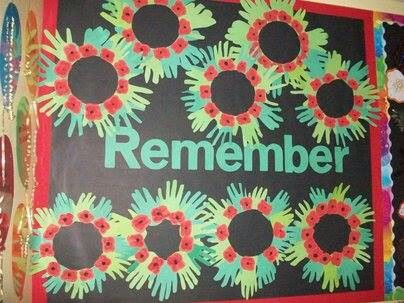 Hand and Poppy Wreaths