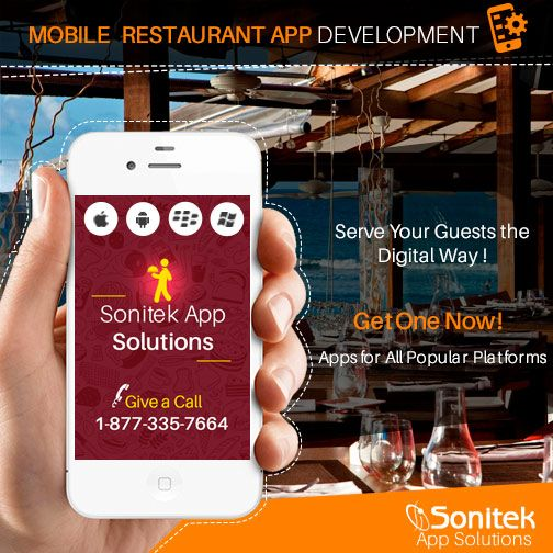 Customers are buying products & services through their #MobileDevices. And this staggering number will only increase in the near future. The #RestaurantBusiness is also undergoing a sea change. So, you should invest in restaurant #MobileApps for a better future http://www.sonitekapps.com/restaurants-mobile-app.php