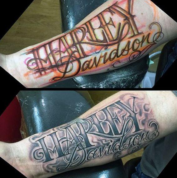 Best 25 Letter Tattoos Ideas On Pinterest: 25+ Best Ideas About Harley Davidson Tattoos On Pinterest