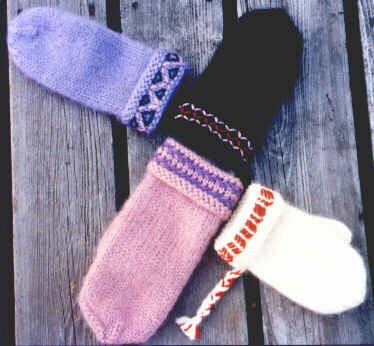 Lovikka Mitten pattern for children