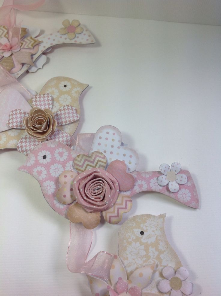 Wall Hanging designed by Julie Hickey using Craftwork Cards Julie Loves Bird Wall Hanging kit