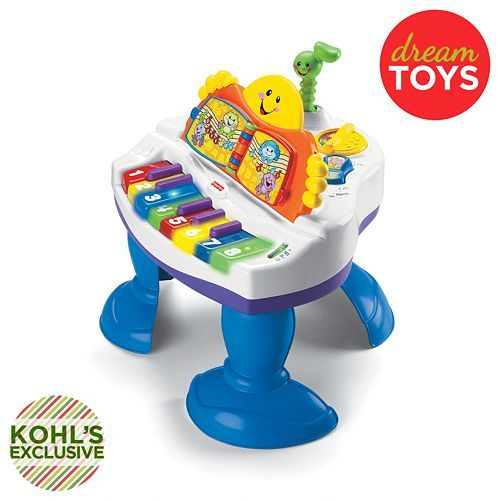 Moms, Isla LOVES this! Fisher-Price Laugh and Learn Baby Grand Piano #Kohls