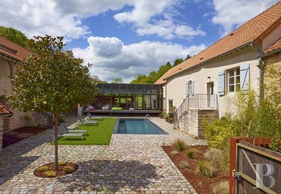 9 best Maisons de ville images on Pinterest Terraced house - maison ossature metallique avis