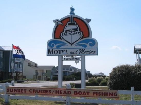 Blue Water Point Marina Restaurant Oak Island, North Carolina