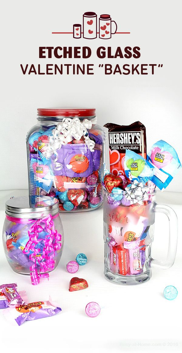 Superb How To Make Etched Glass Valentine Baskets, Easy DIY Gift Tutorial