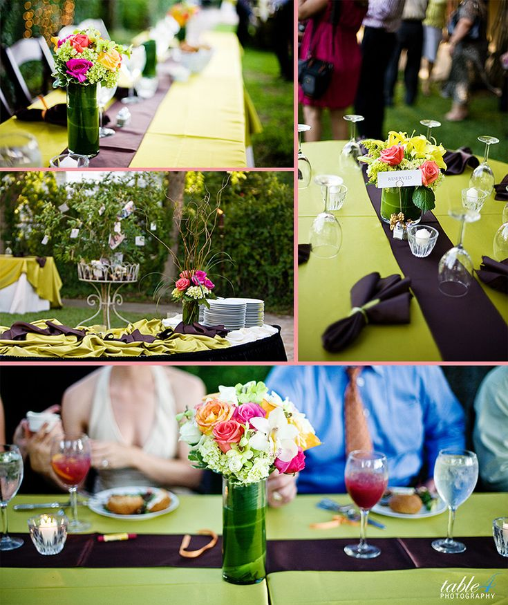 45 best wedding receptions ideas images on Pinterest Casual