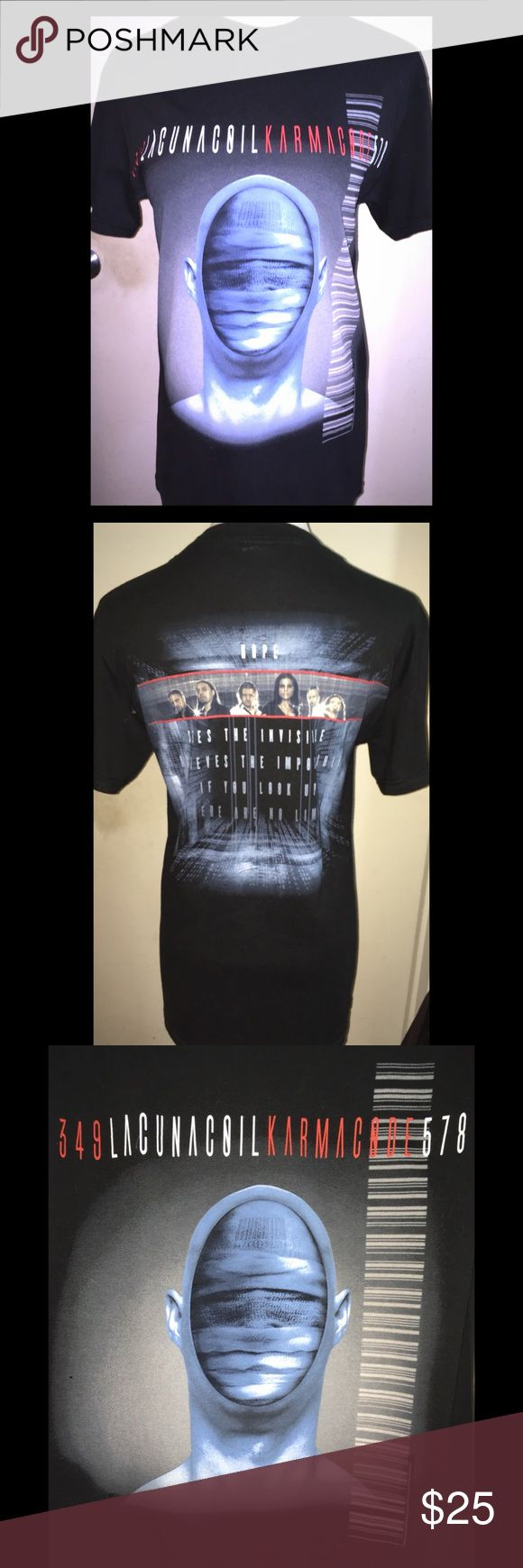 Lacuna Coil Gothic Metal Band Women's TShirt-Sz S Lacuna Coil Gothic Metal Band Women's T-Shirt Size Small.  Like new/excellent condition!!! Lacuna Coil Tops Tees - Short Sleeve