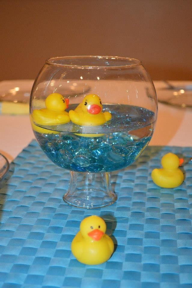 Rubber Duck Baby Shower Centerpieces Best House Interior Today