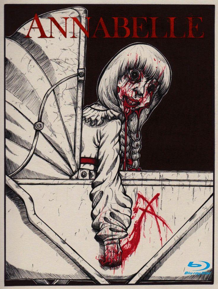 Annabelle Horror Movie Poster