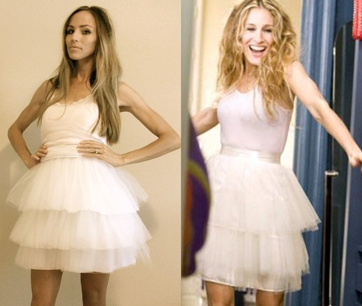 Carrie Tutu. Another DIY idea for the nieces.