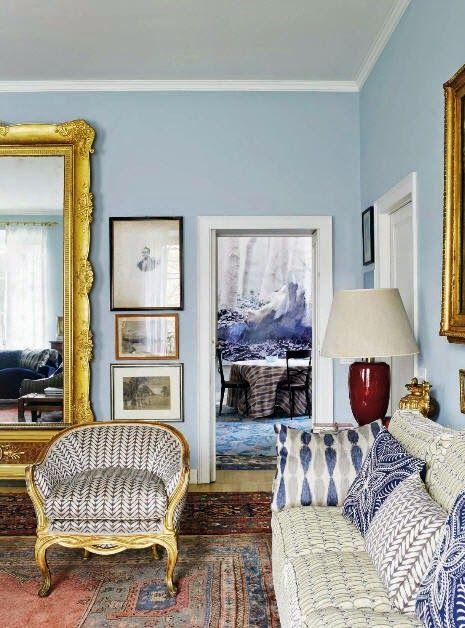 Benedettau0027s Beautiful Blues Italian HomeMilan ApartmentItalian