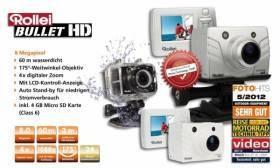 Rollei Bullet 4s 1080p Full HD Kamera schwarz - www.profirad.de