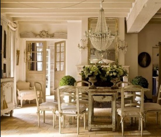 From a French country cottage