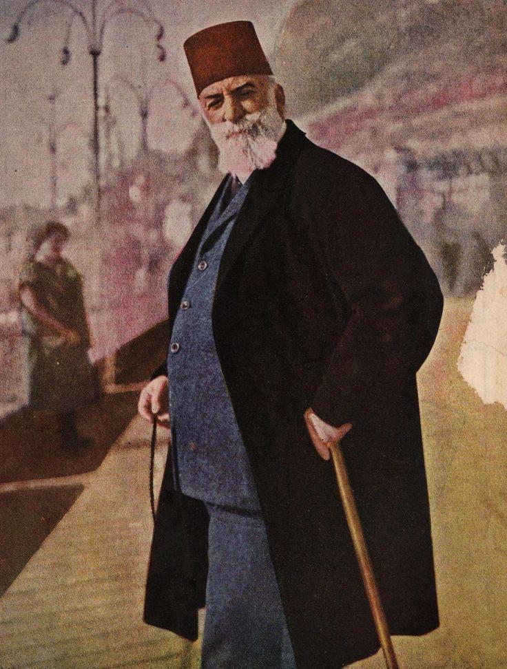 [Ottoman Empire] Last Caliph Abdulmejid Effendi in Exile, Switzerland, 1924 (Abdülmecid Efendi İsviçre'de Sürgünde)