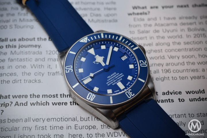 Introducing the Tudor Pelagos Blue and Black with new In-House movement - Monochrome Watches