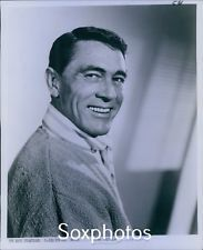 LD24 '66 Original Photo KEN CURTIS Handsome Hollywood Heart Throb Actor Portrait
