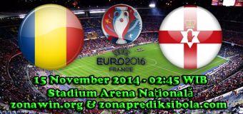 Prediksi Rumania vs Irlandia Utara 15 November 2014
