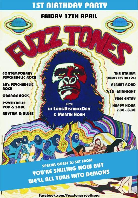Fuzz Tones at the Atrium, Albert Road on 17/04.