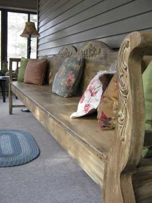 9 Bartlett: French Country Bench Made By You Know Who