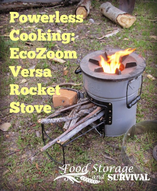100 Camp Stove Recipes On Pinterest: Powerless Cooking On The EcoZoom Versa Rocket Stove