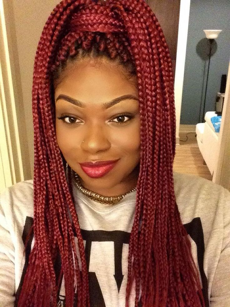 Crochet Box Braids Red : ... BRAIDS, BRAIDS. BRAIDS!!!! ? on Pinterest Braids, Box braids and