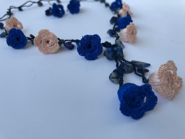 Floral Necklace Garland--Free Pattern