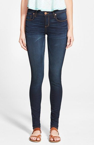 STS+Blue+'Piper'+Skinny+Jeans+(Dark+Wash)+available+at+#Nordstrom