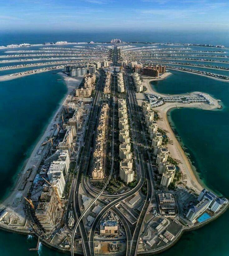 Palm Jumeirah Island Dubai Uae Cidade De Dubai Promocoes De