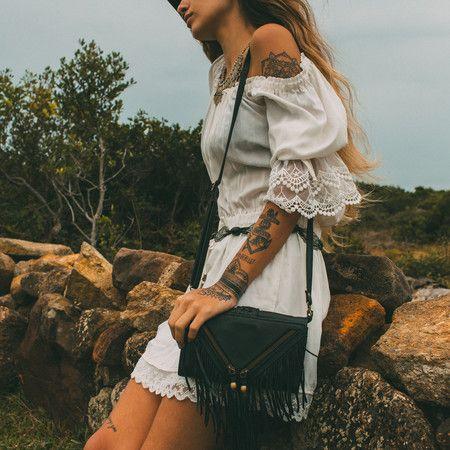 PATCHOULI handmade leather cross body bag #mahila #leather #handmade #boho #bohemian #bohoinspiration #genuine #bag www.mahilacouro.com.br