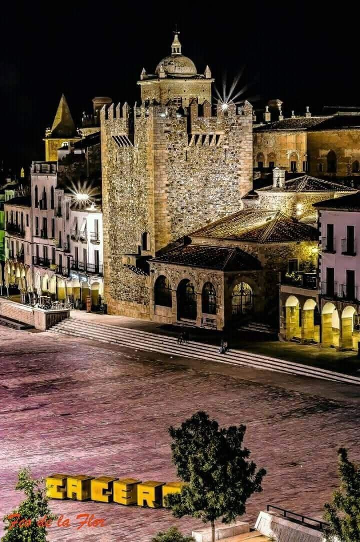 Cáceres, Plaza Mayor