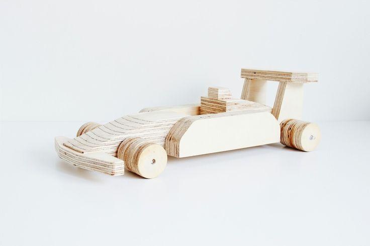 Houten speelgoed auto Handmade Www.kooekie.nl